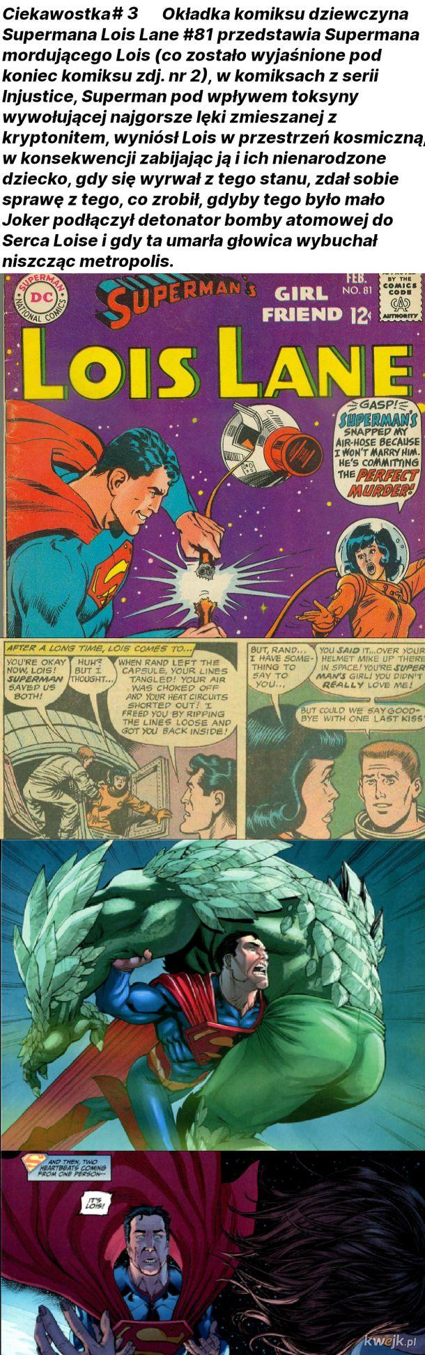 Ciekawostka #3 Superman zabił swoją Żonę