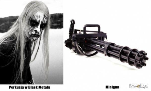 Perkusja w black metalu taka je