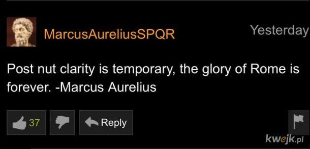 Marek Aureliusz mądrze prawi