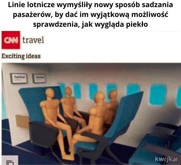 Wyobraźcie sobie 20-sto godzinny lot...