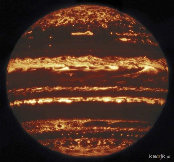 Jowisz w podczerwieni