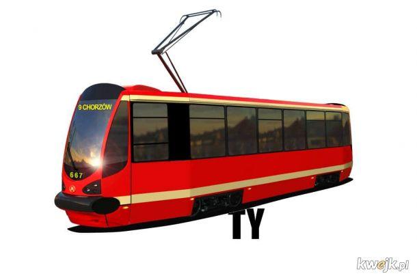 Na Ty tramwaj staje