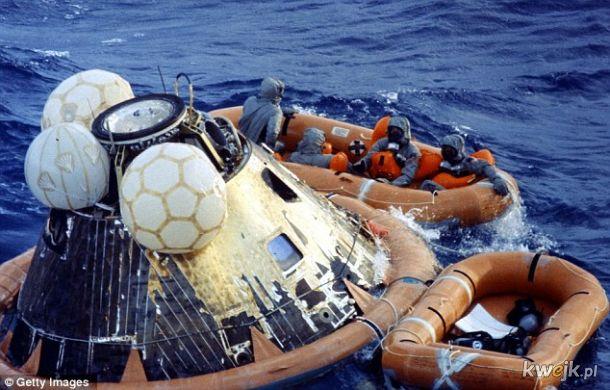 24 lipca 1969 roku załoga Apollo 11 zakończyła swoją epicką wyprawę na Księżyc, przywożąc ze sobą 21,7 kg skał księżycowych. Po powrocie selenonautów czekało 19 dni kwarantanny, na wszelki wypadek gdyby przywieźli z Księżyca jakieś nieznane patogeny