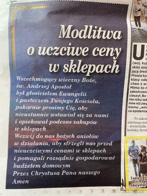 Polska, Kraj pobożnych ludzi