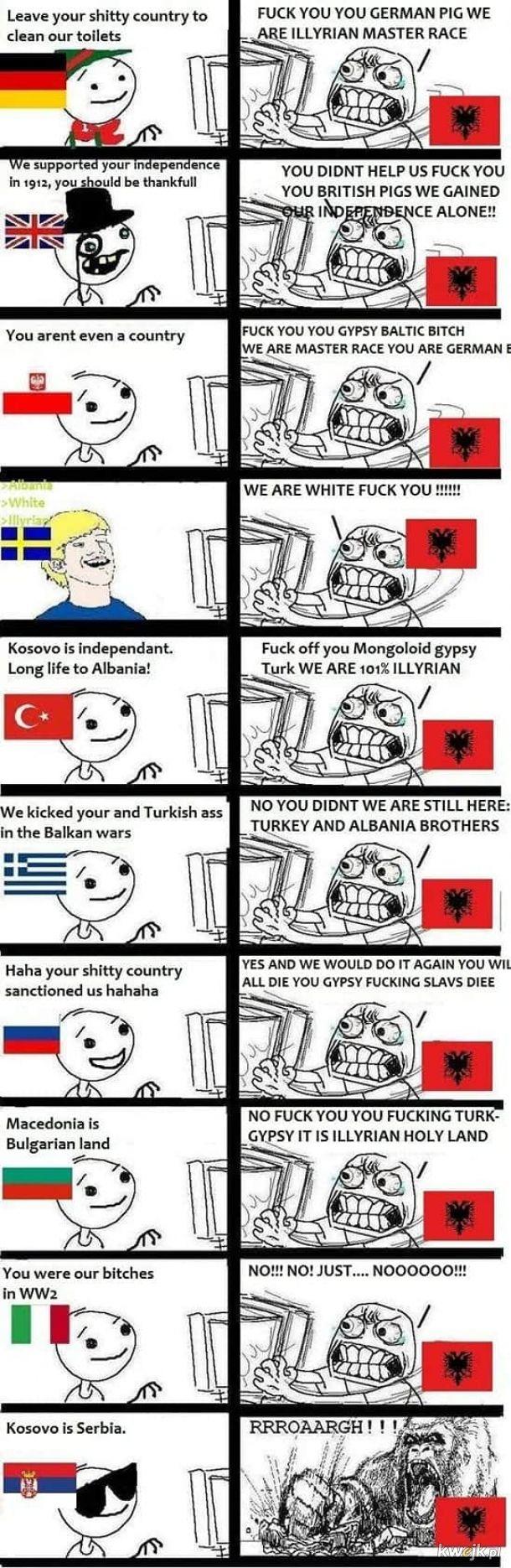 Albania....