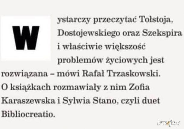 Nie czytasz Tołstoja, nie jesteś demokratą