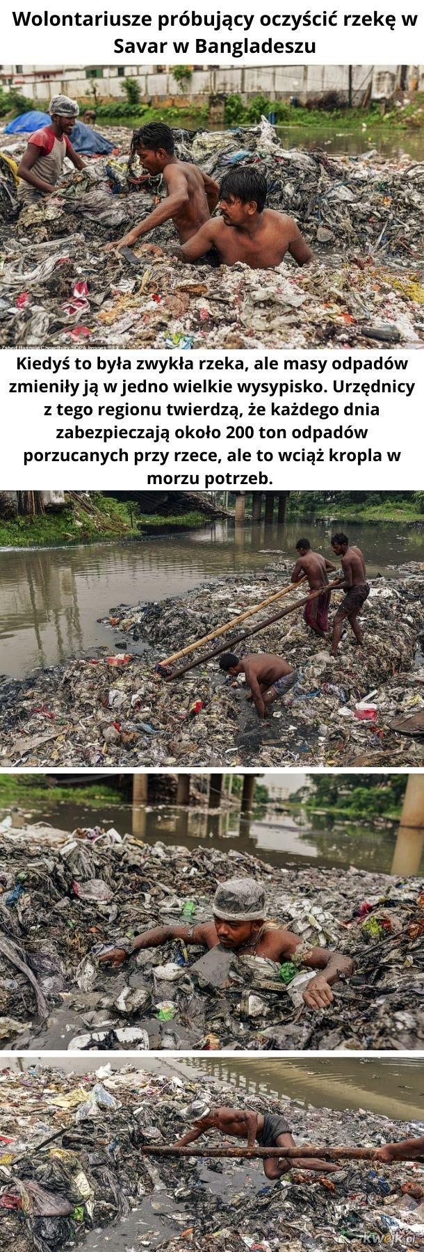 Rzeka śmieci