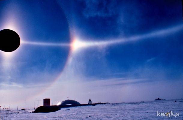 Halo, krąg parheliczny i słońce poboczne