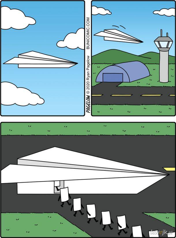 Pasażerowie papierowego lotnictwa