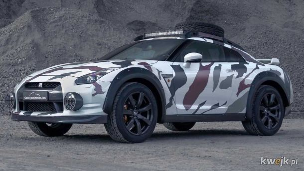 Nissan GT-R Extreme Off-Road_Motor1.com
