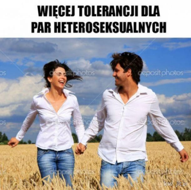 Więcej tolerancji