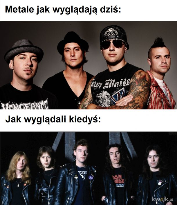 Metale kiedyś a dziś