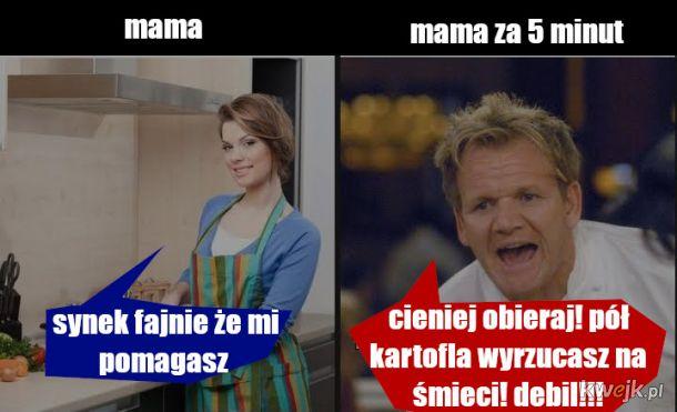 Pomóż mamie w kuchni