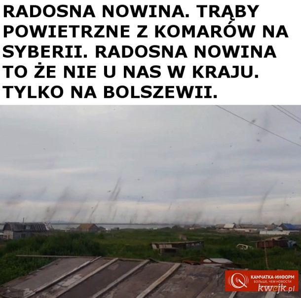 Rzadko spotykane tornada zaatakowały Syberię!