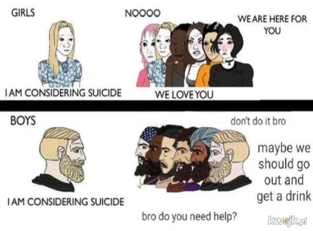 Samobój nie jest badassowy