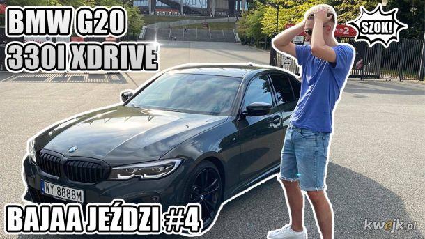 BYŁ W SZOKU! BMW G20 330i XDRIVE - kanał na YT: BAJAA