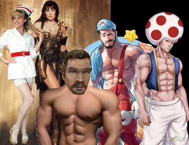 Internet przesadza z seksualizacją, ikon popkultury jestem pewien, że te postaci nie był były kiedyś tak seksowe.