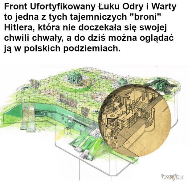 Front Ufortyfikowany Łuku Odry i Warty - zabytek wojskowy pozostawiony w Polsce przez Trzecią Rzeszę - część pierwsza
