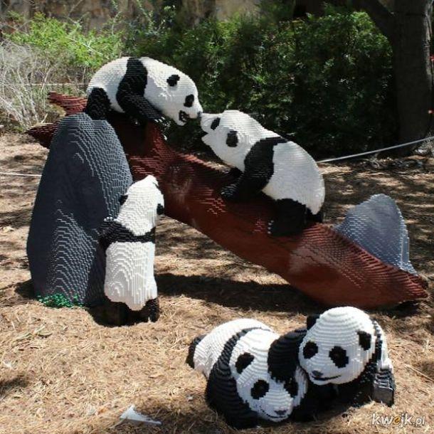 Zoo w San Antonio zastąpiło zwierzęta okazami zrobionymi z klocków Lego