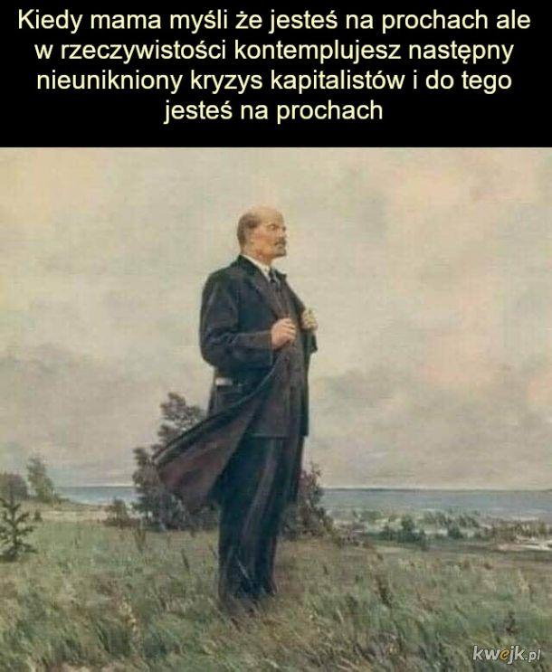 Wielki Lenin miał problemy