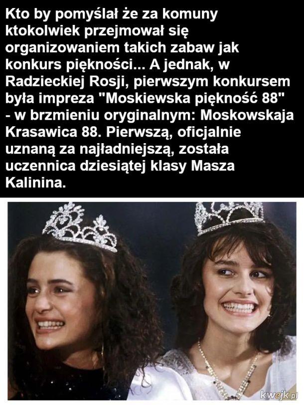 Konkurs piękności z Związku Radzieckim w 1988
