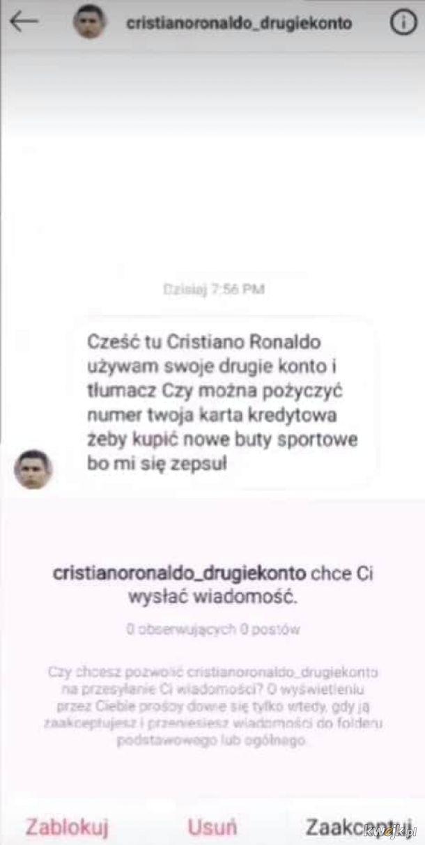 Nice try Ronaldo