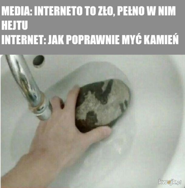 To ludzie robią hejt a nie internet