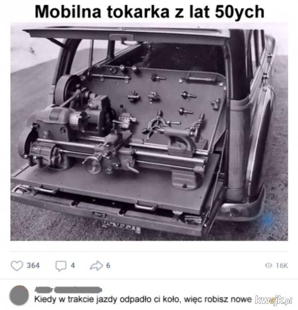 Mobilna tokarka