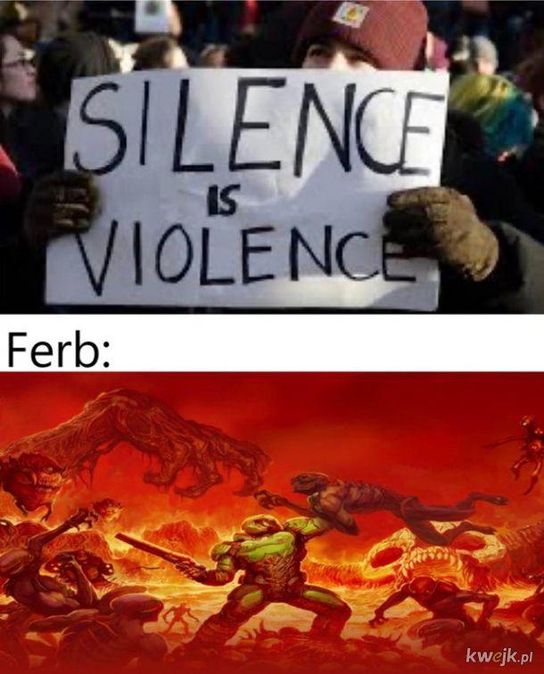 Milczenie to przemoc