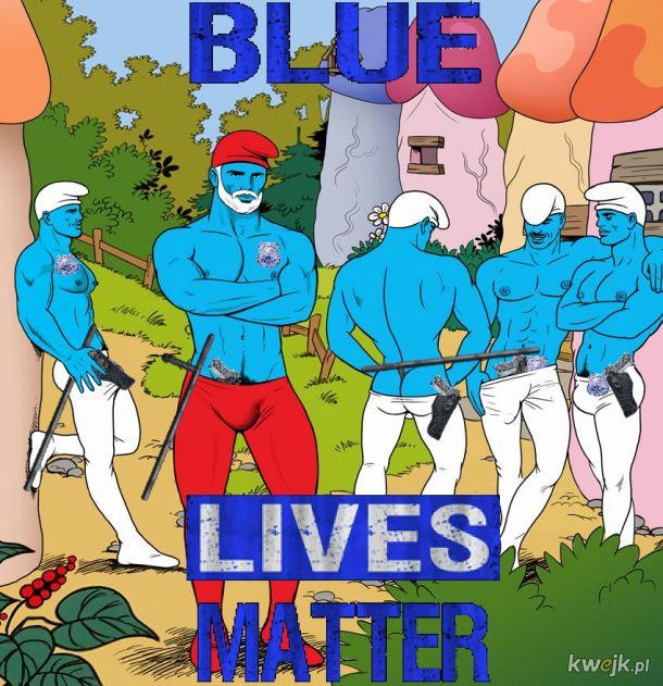 Normalnie nie lubię mieszać się w politykę ale ta kwestia jest bliska mojemu sercu więc powiem to BLUE LIVES MATTER