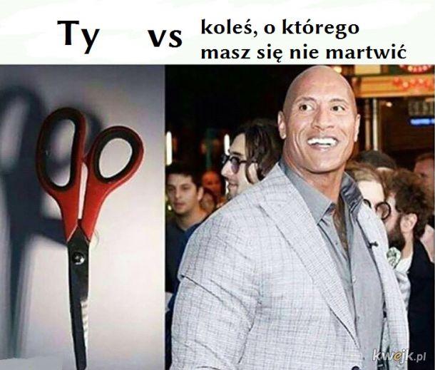 Scissors vs ROCK