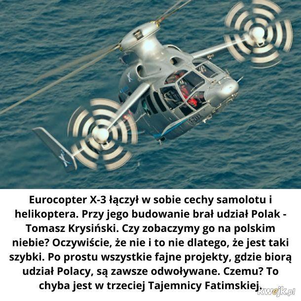 Helikopter robi pyr pyr pyr