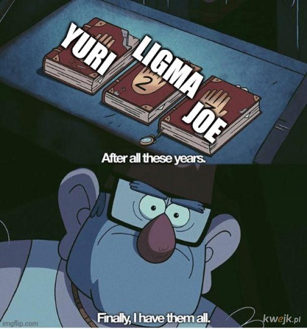 Hej yuri się o ciebie pytał