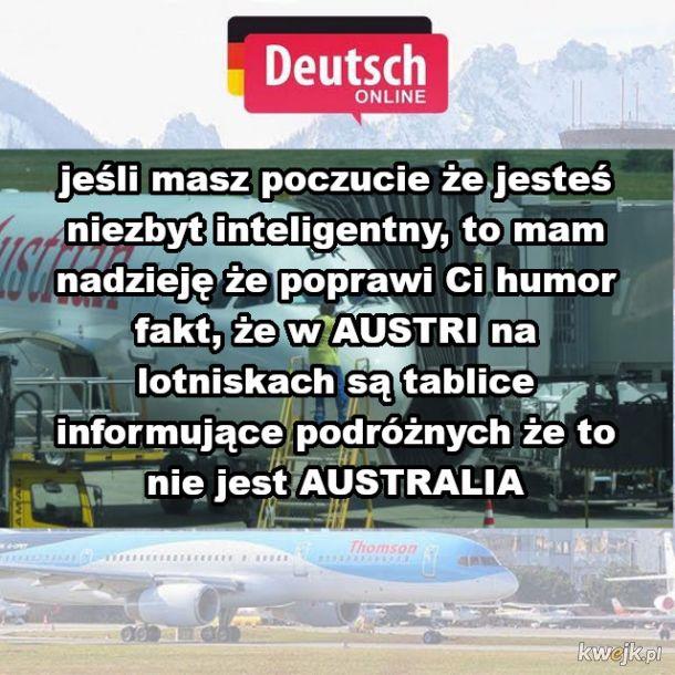 Austria ≠ Australia