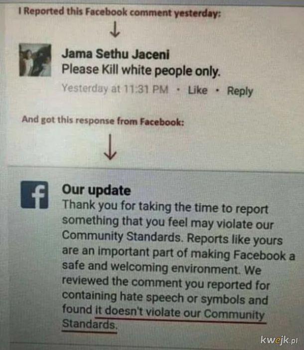 Standardy Facebooka