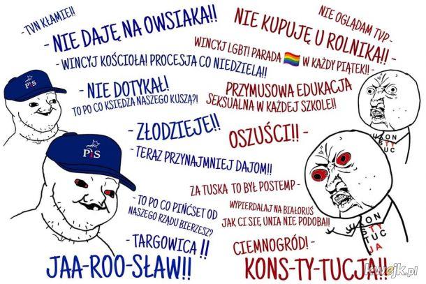 PiS i KO (PO)