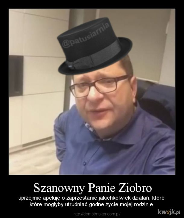 Szanowny Panie Ziobro