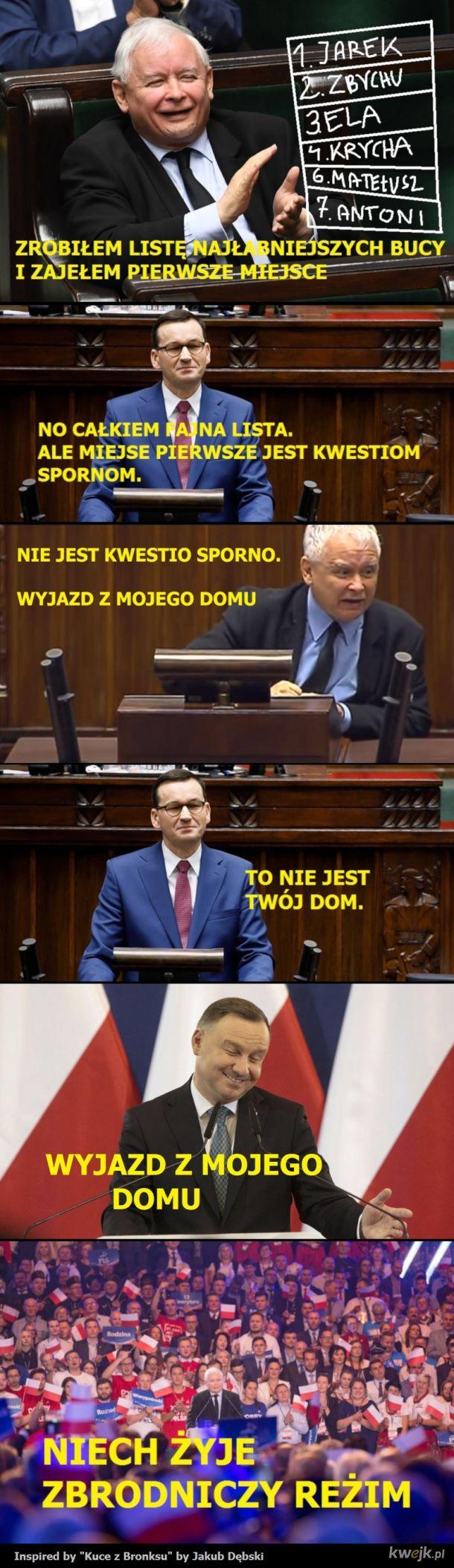 BUCE Z POLSKI