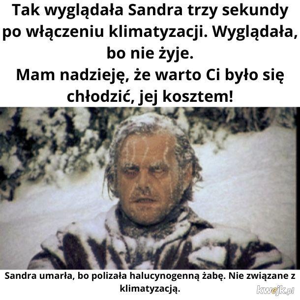 Biedna Sandra :(