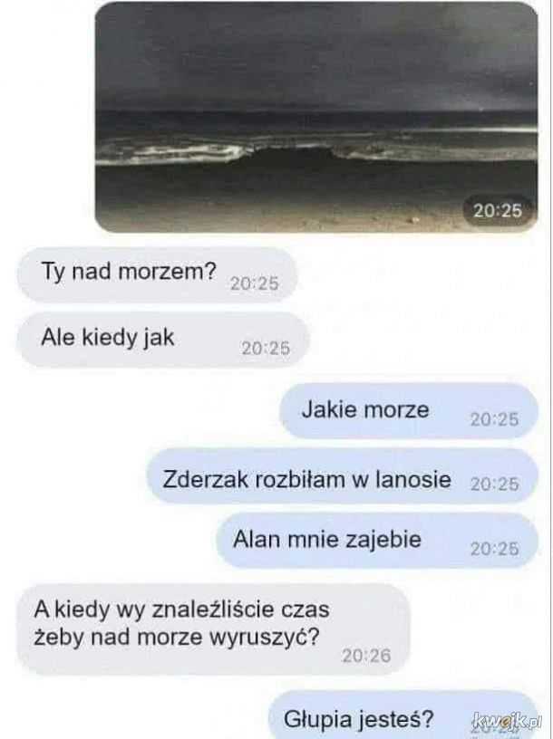 Niebo... Plaża...