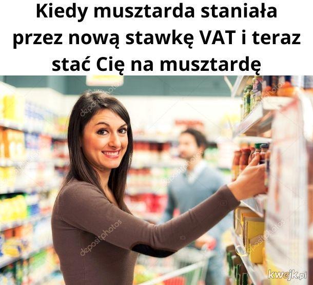 I teraz możesz kupić sobie musztardę i zjeść musztardę