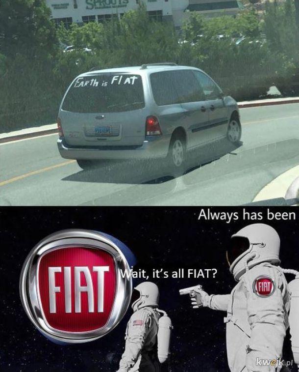 Fiaty są płaskie!