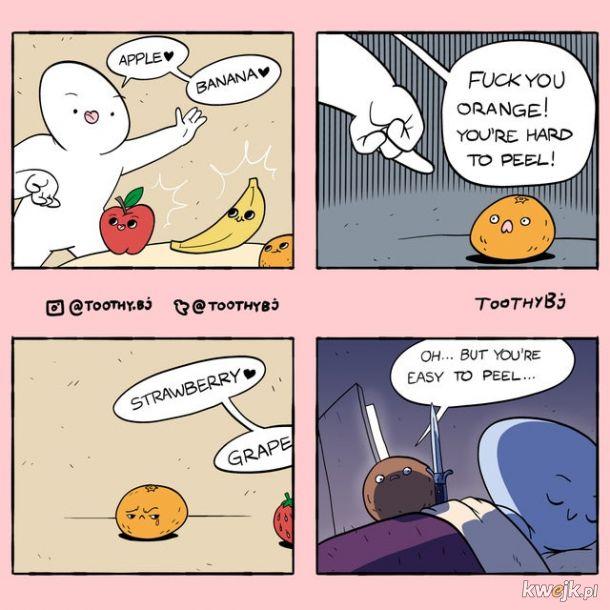 Tu dla ciebie pomarańcza
