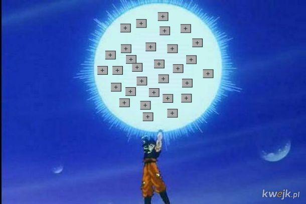 Pomóż Goku pokonać wroga!