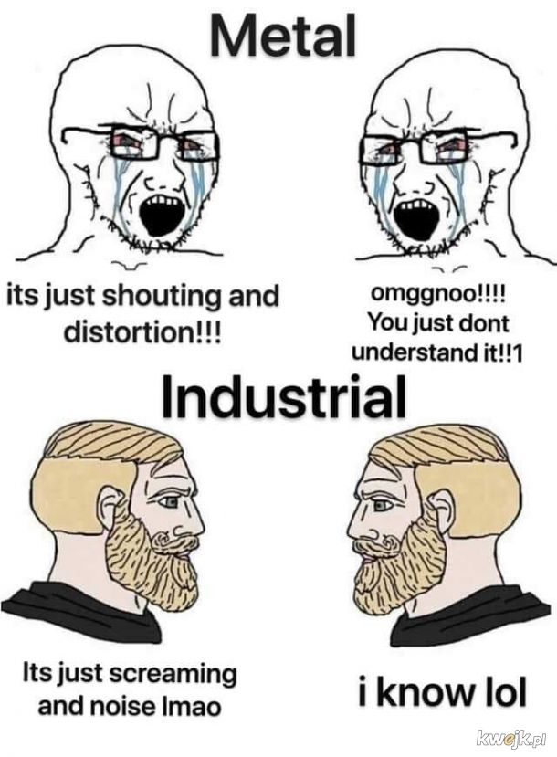 Zdrowa Dawka HARSH NOISE #10 Metal vs Industrial