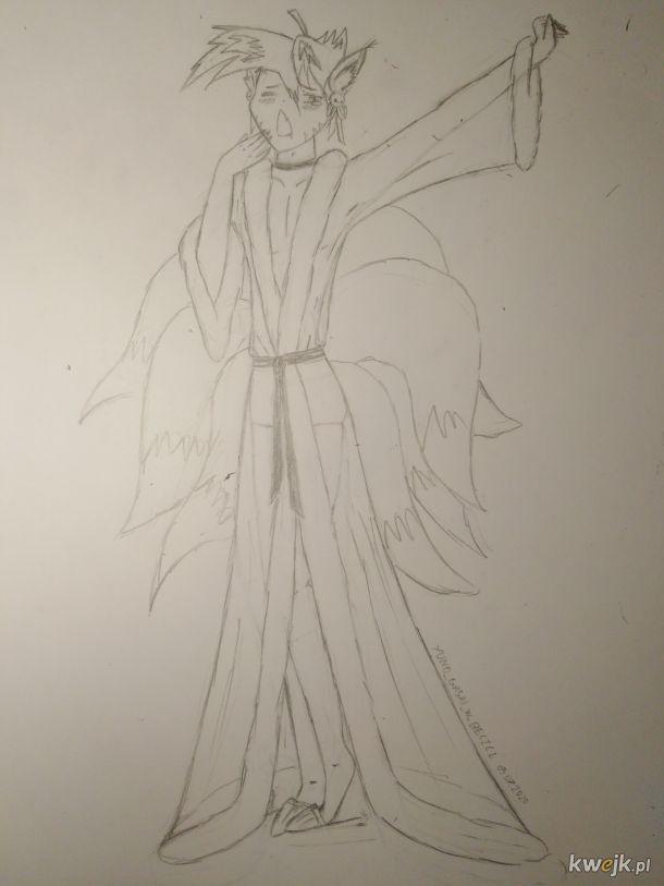 Arciki w beczce #5 Nie mogę cały czas rysować anime-dziewczynek