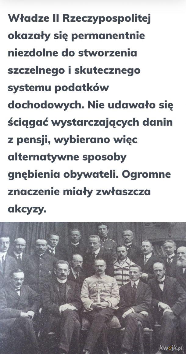 Obecne podatki to pikuś przy podatkach w Drugiej Rzeczpospolitej Polsce