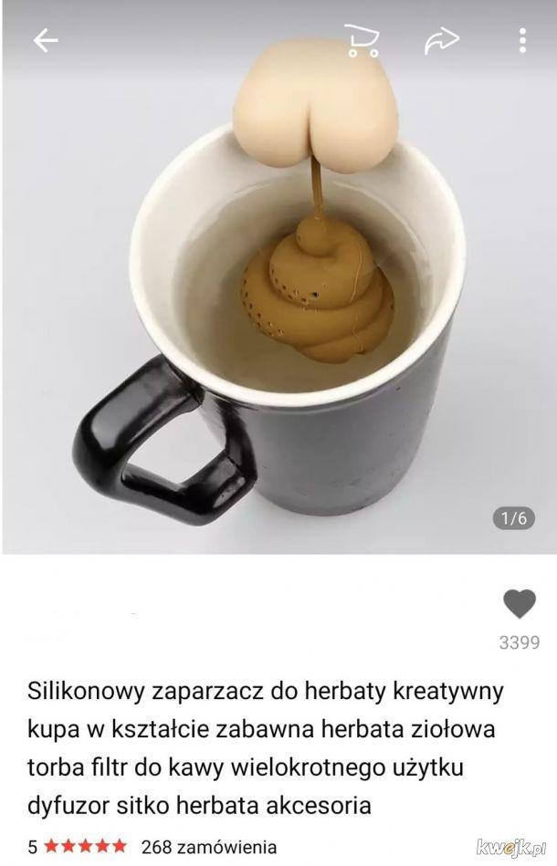 """NASRALI mi do herbaty! """"Hit"""" z Alliexpress"""