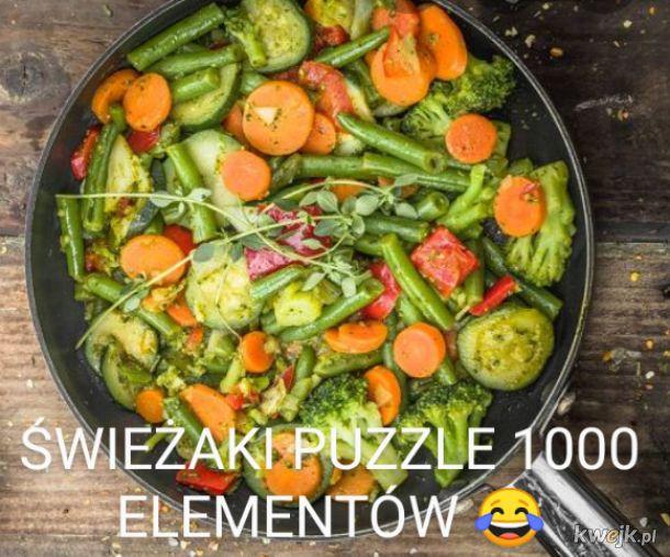 Świeżaki puzzle 1000 elementów