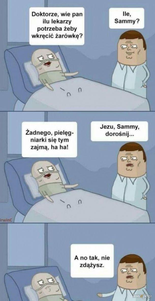 Szpitalny żart